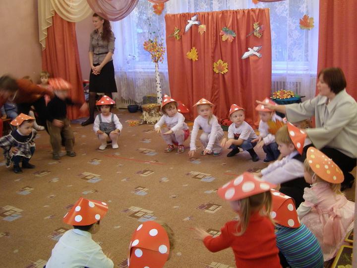 Сценарий осеннего праздника для ясельной групп